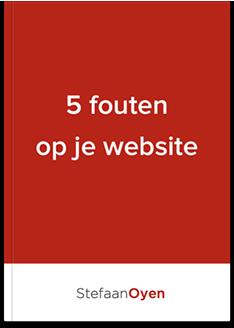 Fouten op je website